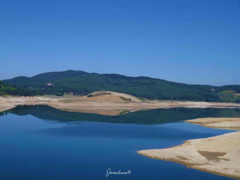 Lago Passante in estate