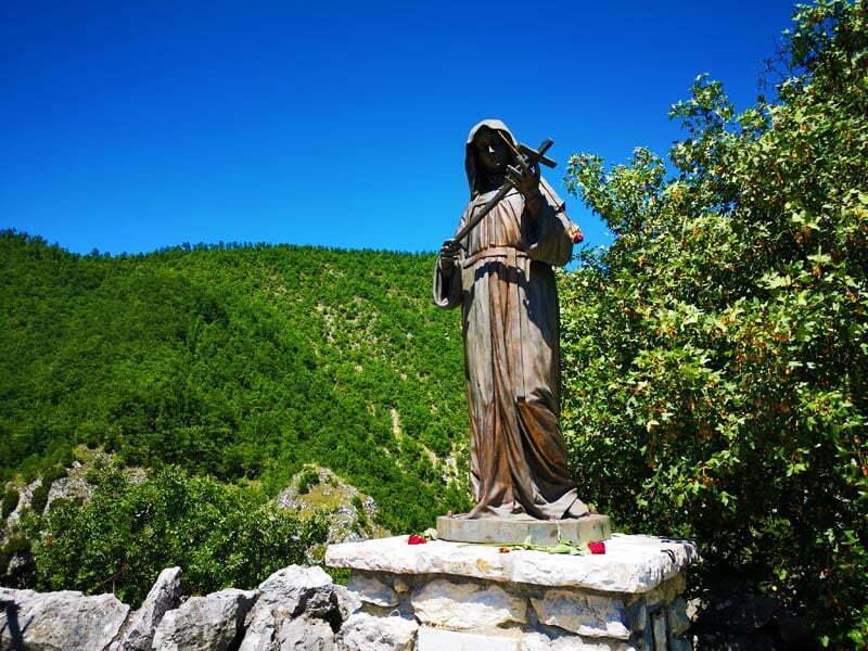 I luoghi di Santa Rita Roccaporena e Cascia