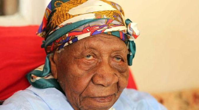 Oldest Woman alive speaks