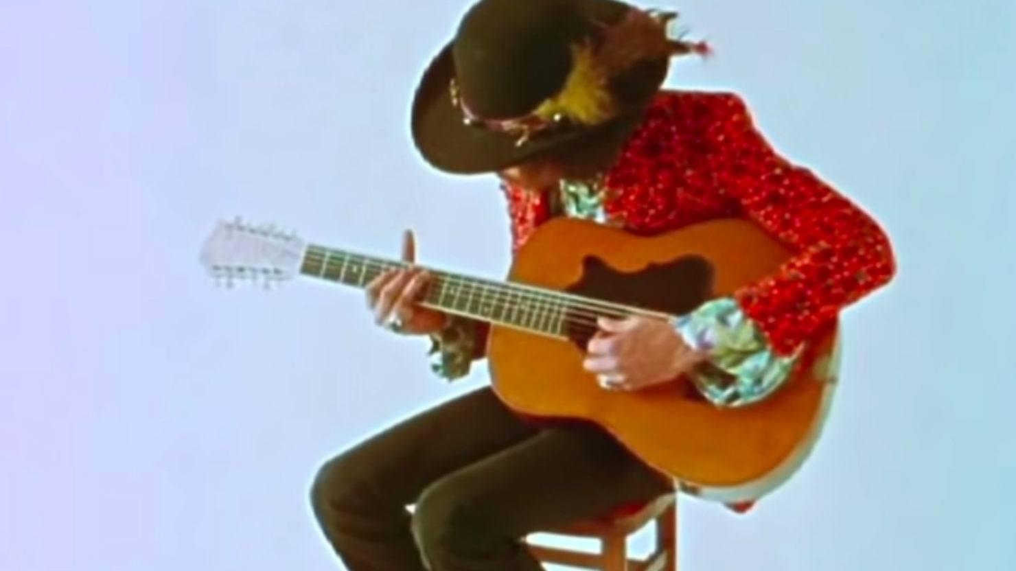 Happy Birthday Jimi Hendrix Jimi Hendrix Unplugged On Acoustic Guitar