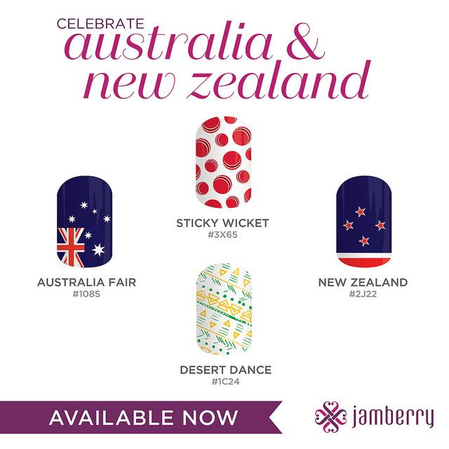 Jamberry Australia & New Zealand Launch Designs