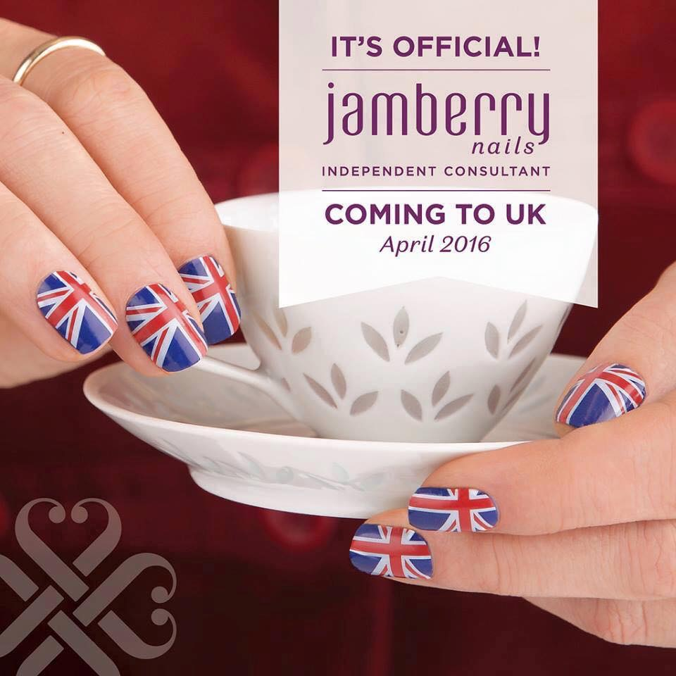 Jamberry is Launching in the UK!!!!
