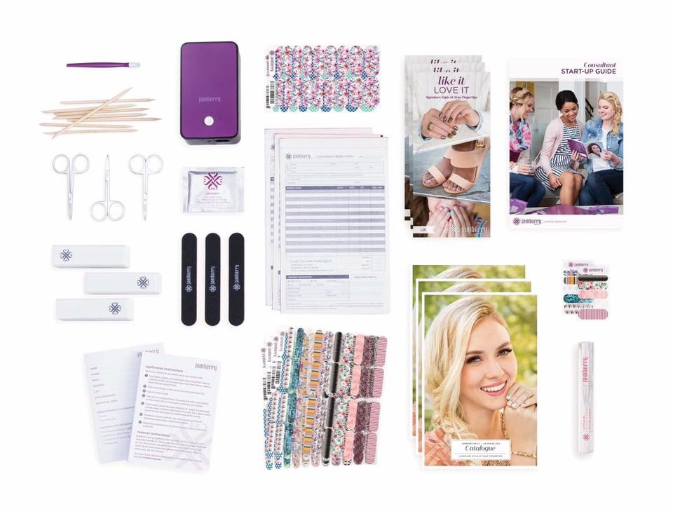 New Jamberry Starter Kits from 1st April