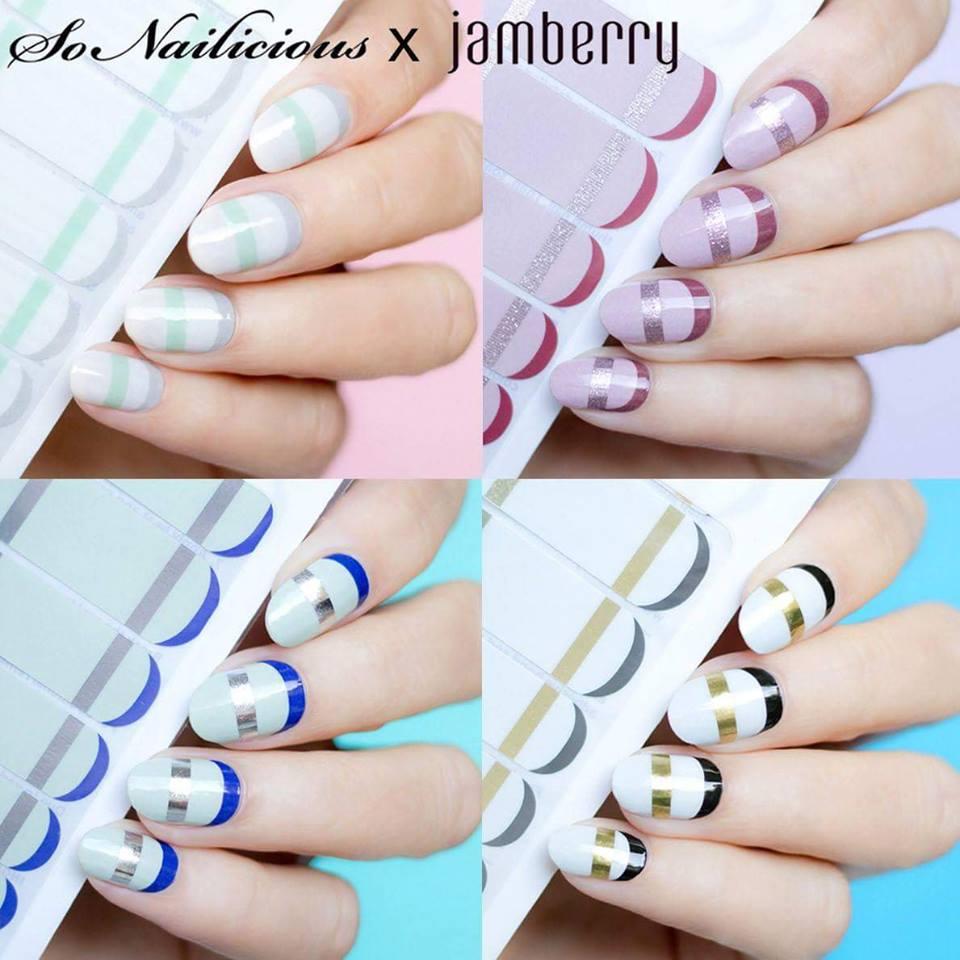 Introducing SoNailicious x Jamberry Collection - Jambeautiful