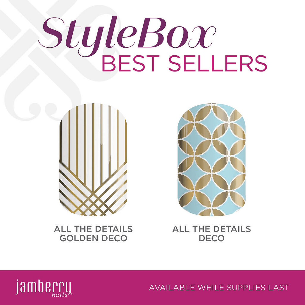 Announcing Stylebox by Jamberry Bestsellers