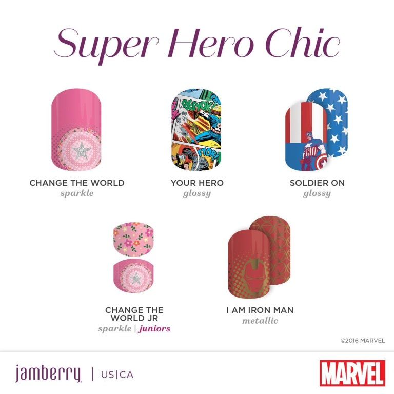 Introducing Marvel Presented By Jamberry – USA/Canada