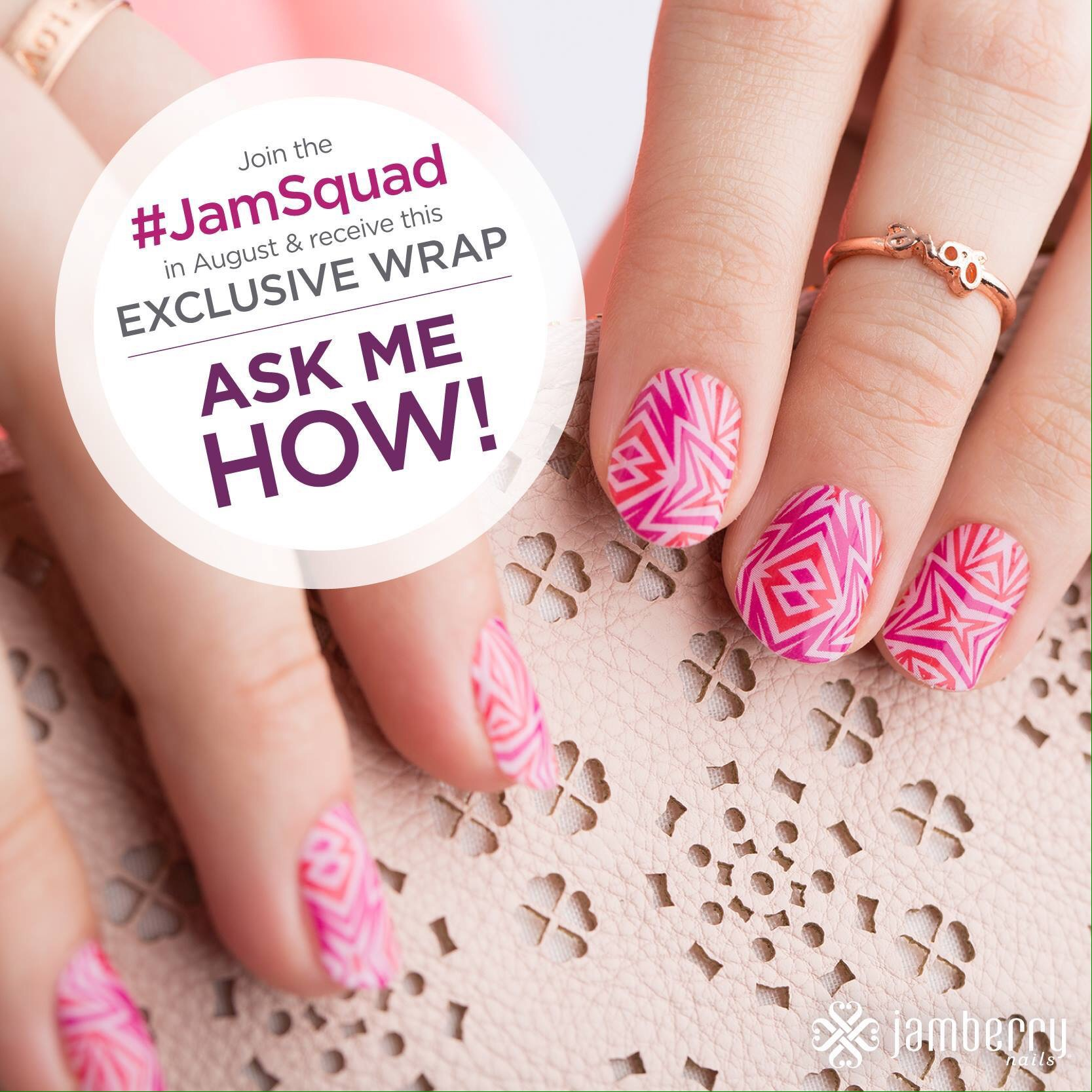 Join the Jamsquad in August