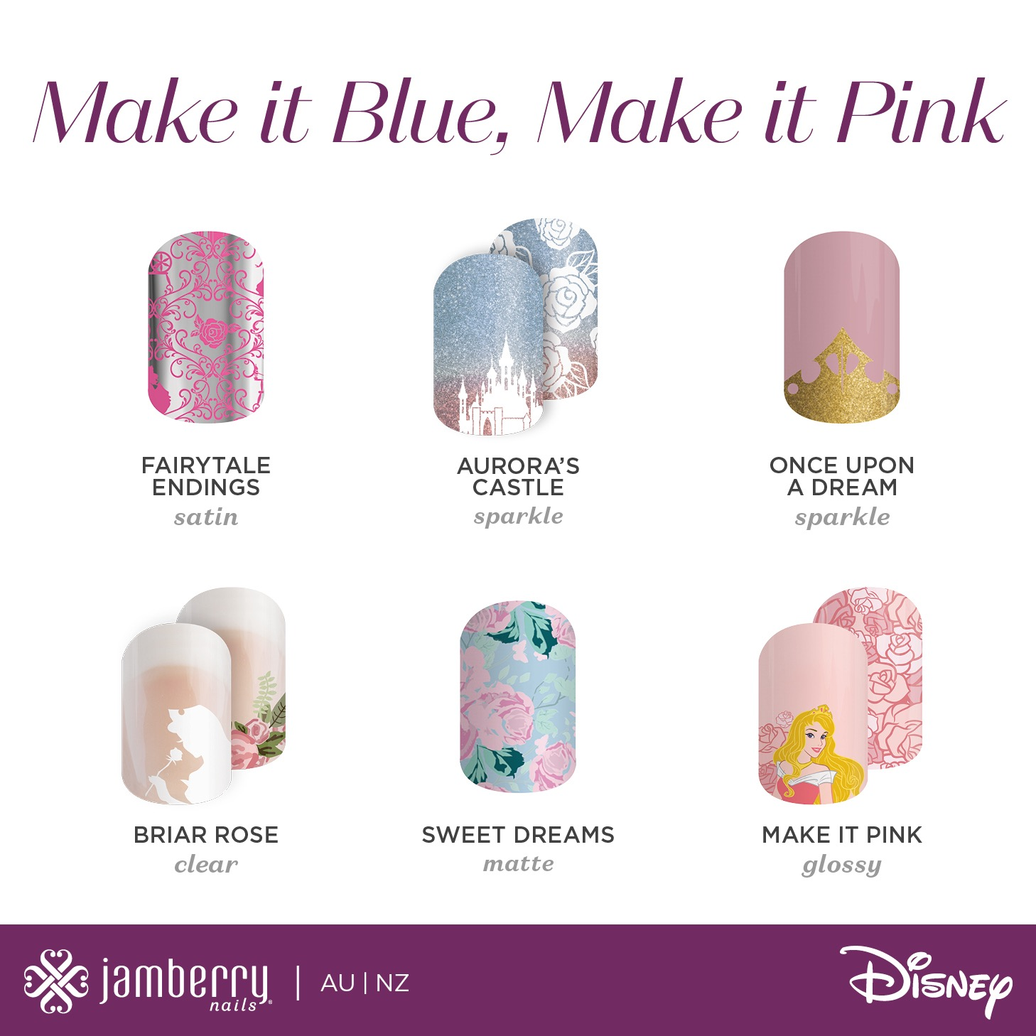 Disney Collection by Jamberry (Series 1 & 2) - Jambeautiful