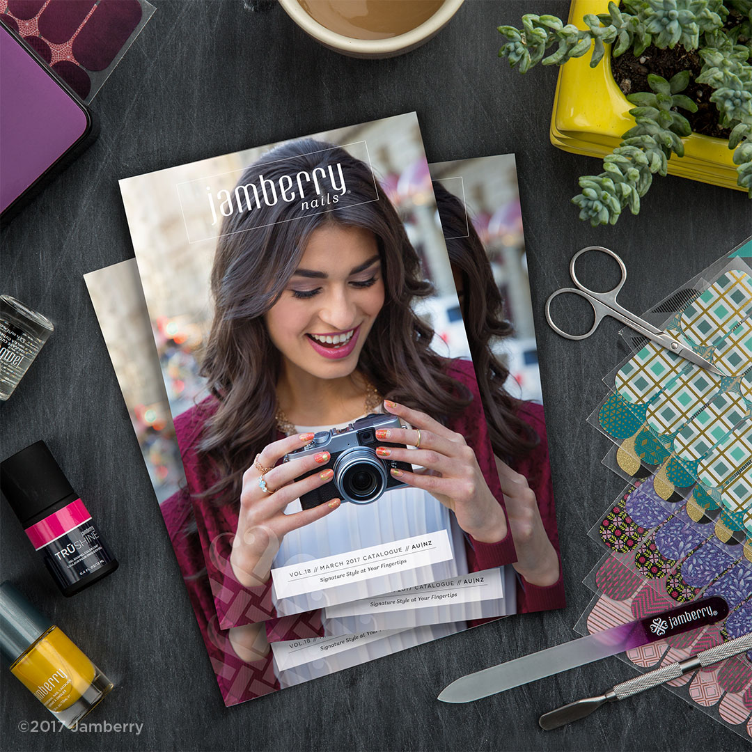 Jamberry March 2017 Catalogue
