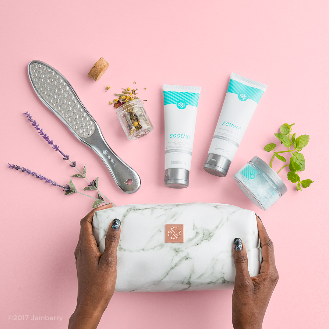 Introducing Indulgence Foot Care Set