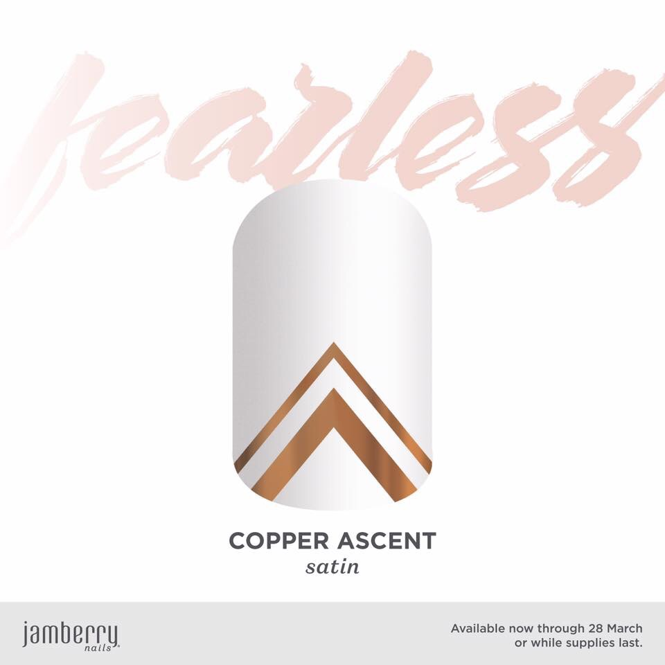 March #befearless Exclusive – Copper Ascent