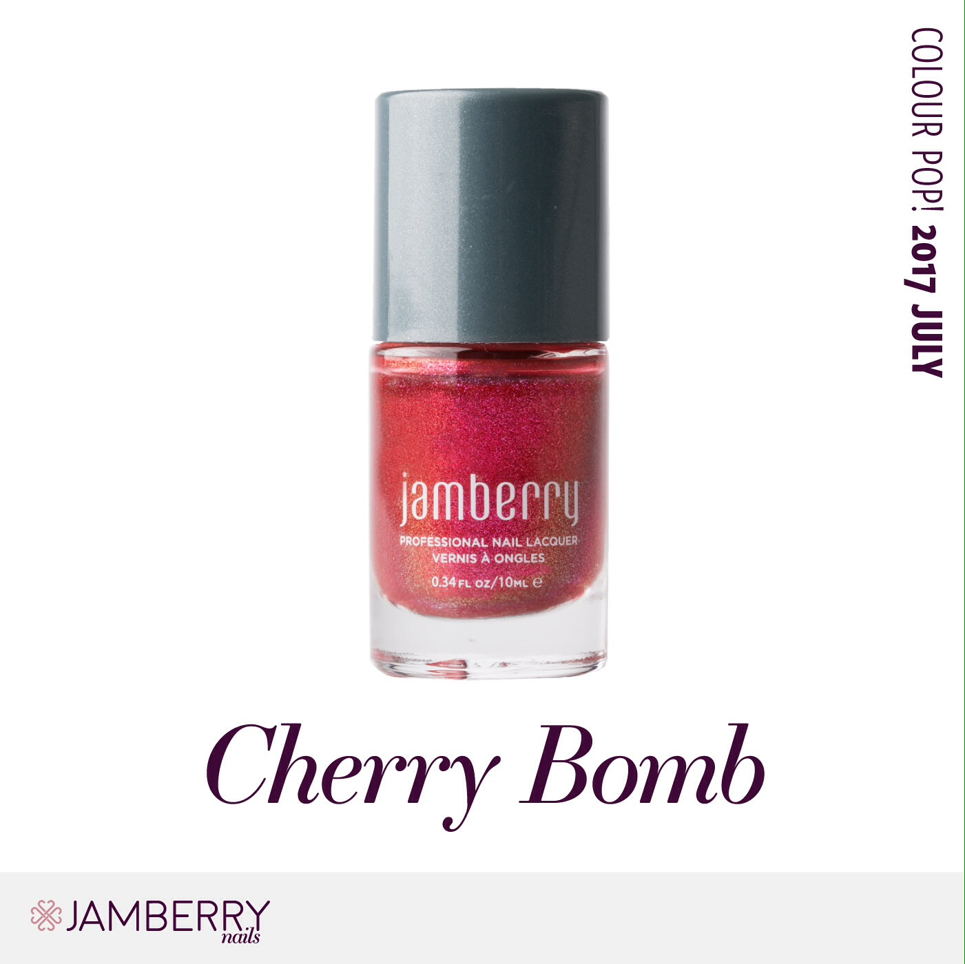 July Colour Pop – Cherry Bomb