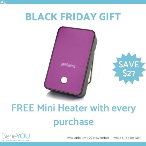 Free Jamberry mini heater
