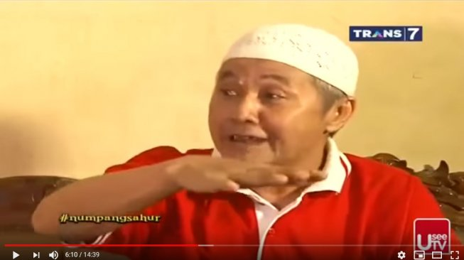 Pelawak Nur Tompel. [YouTube]