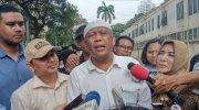 Caleg PAN Eggi Sudjana saat penuhi panggilan di Polda Metro Jaya. (Suara.com/Arga)