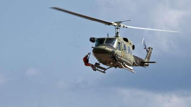 Ilustrasi helikopter. (Shutterstock)