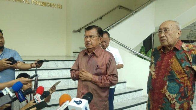 Wakil Presiden Jusuf Kalla. [Suara.com/Ria Rizki]