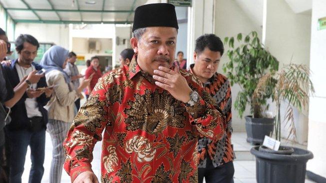Mantan Wakil Ketua DPR RI Fahri Hamzah. [Suara.com/Muhaimin A Untung]