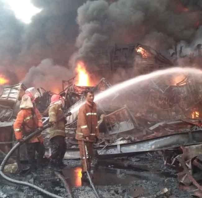 Kebakaran ABP