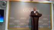 Jubir Pemerintah Untuk Penanganan Covid-19 (Corona) Achmad Yurianto di Kantor Presiden, Jakarta Pusat. (Suara.com/Ummi HS).