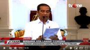 Presiden RI Joko Widodo mengeluarkan kebijakan terkait penanganan darurat coronavirus