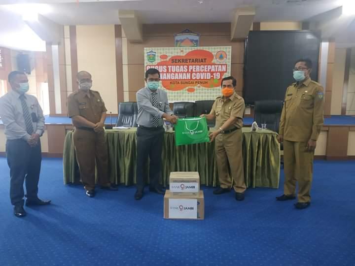 Walikota Sungapenuh, H. Asafri Jaya Bakri. Foto: Oga/Jambiseru.com