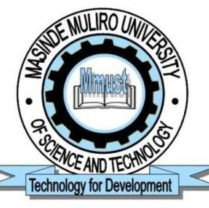 Masinde Muliro University of Science and Technology admission letter