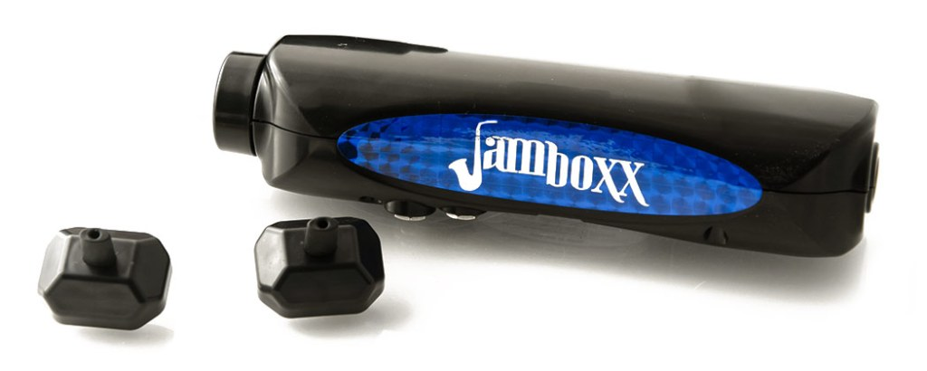 Jamboxx MIDI controller - A hands-free electronic wind instrument