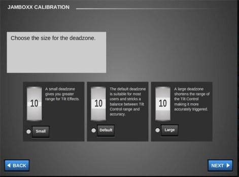 Calibration - Deadzone Calibration - Pro MIDI software solutions
