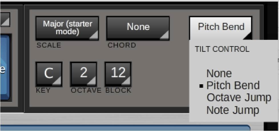 Jamboxx Pro Suite software - Tilt control