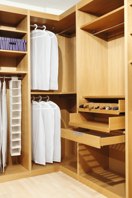 Families Can Benefit From Our Expert Closet Design And Remodeling Skills.  We Can Come Up With Ways To Maximize Space You Never Thought Of!