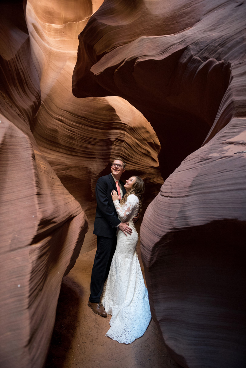 Horseshoe Bend Antelope Canyon wedding photographer