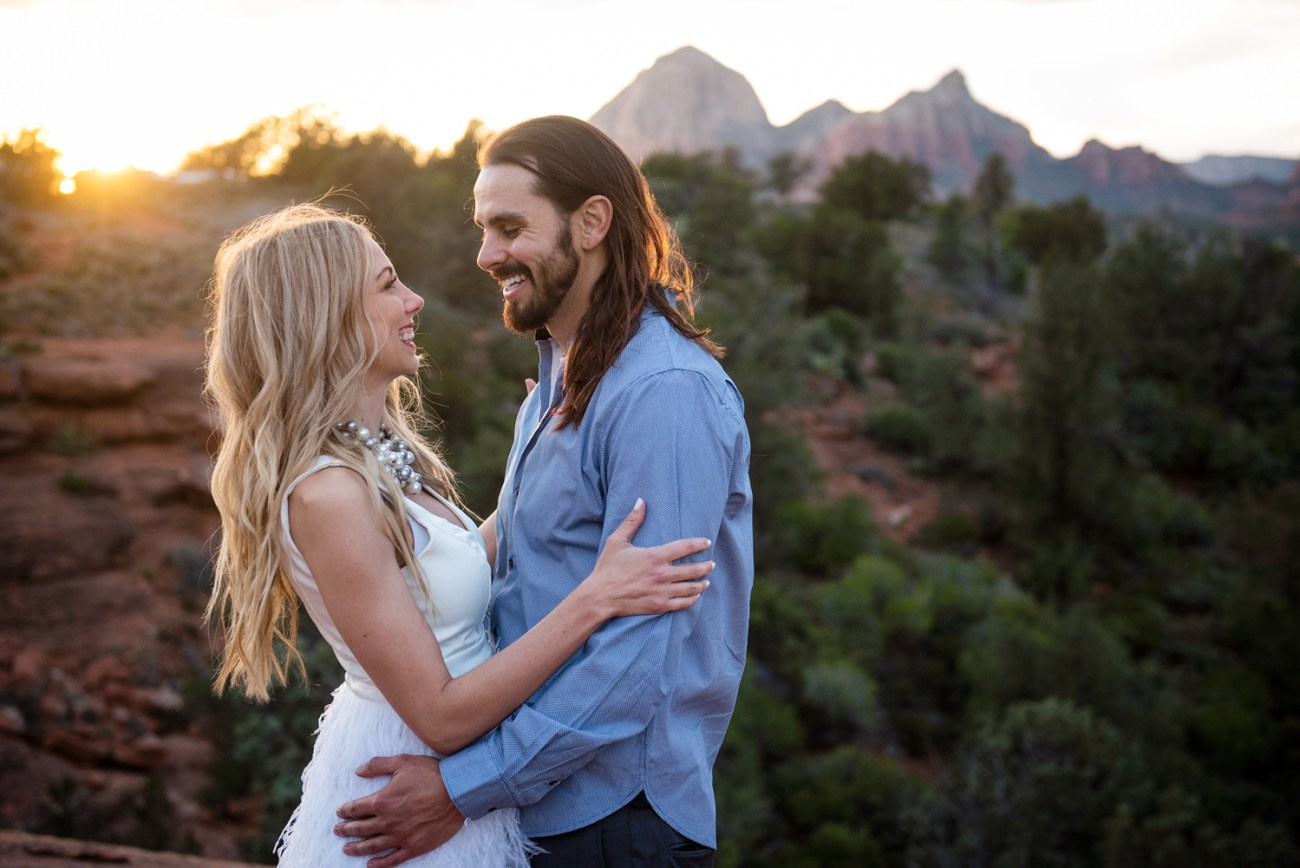 Sedona family elopement