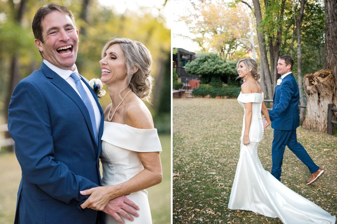 wedding couple in Sedona