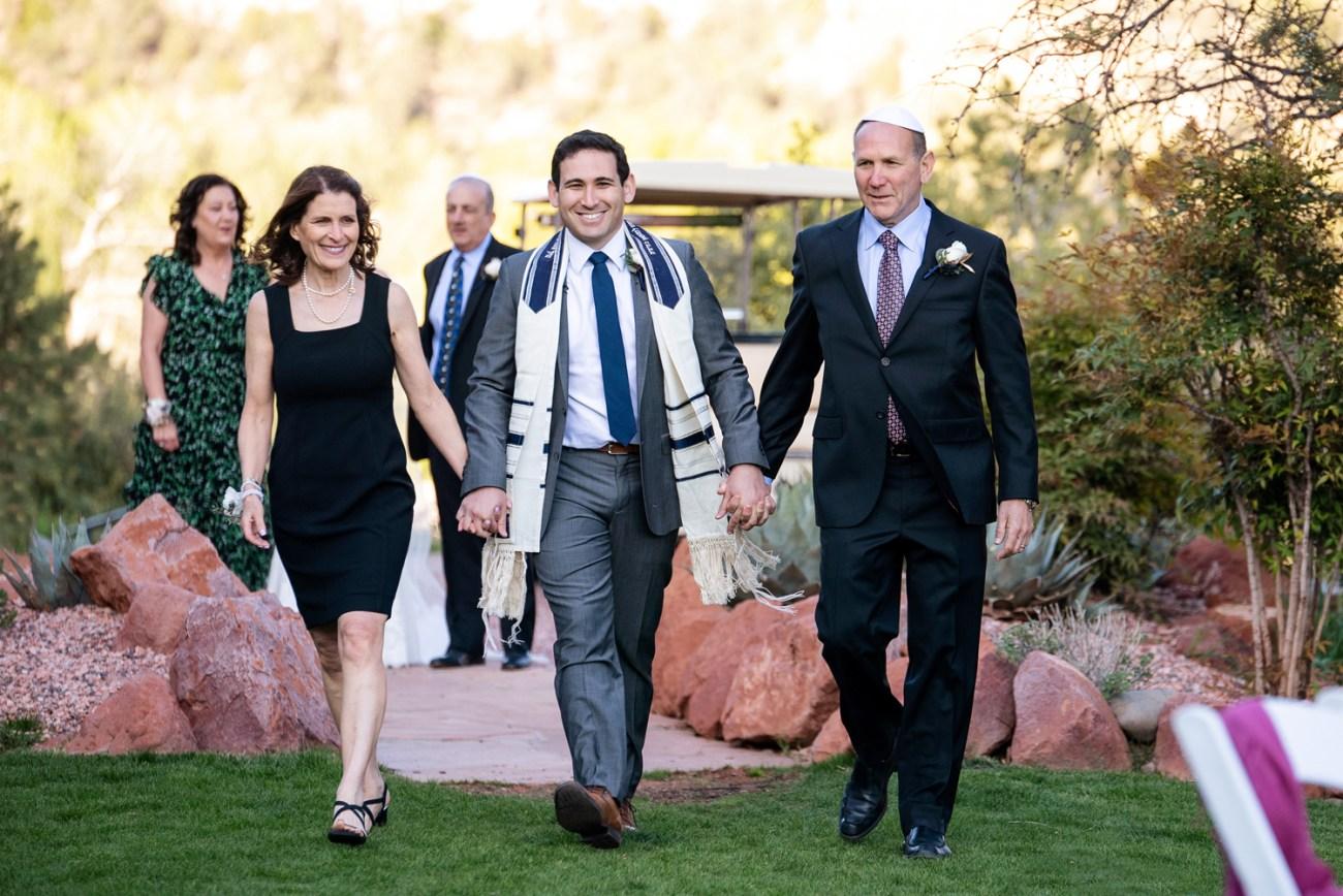 Sedona jewish wedding