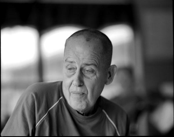 Portrait of nursing home patient.