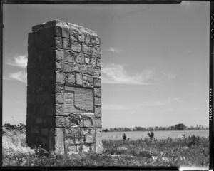 Cowboy Tombstone in Jefferson, Oklahoma