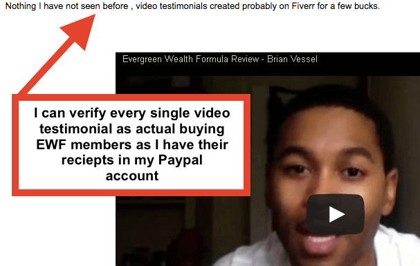 Evergreen Wealth Formula 2.0 Review Scam Warning