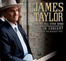 James Taylor Summer 2014 tour promo