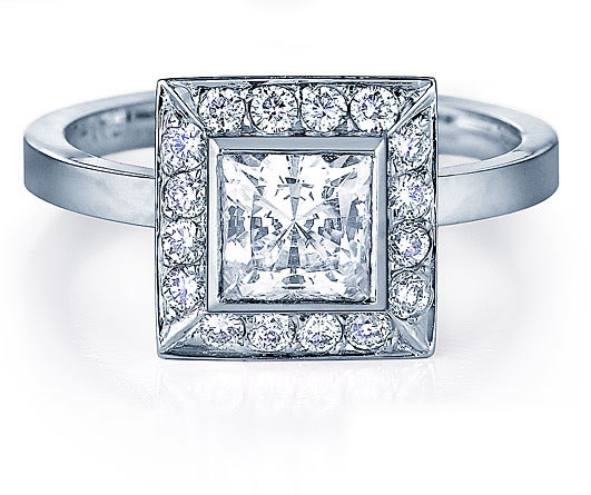 Princess Cut Ring; oooh...me likey... =p