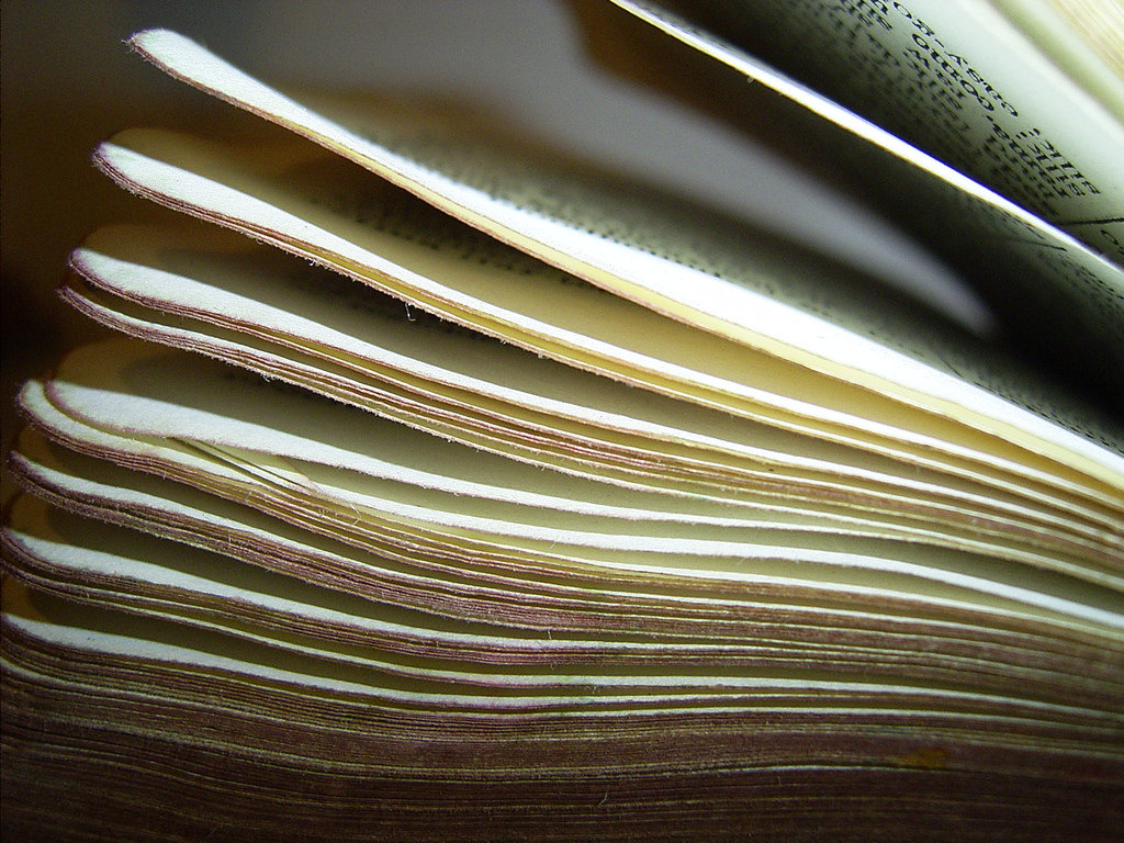 Book by Santi Di Ferrol cc licensed via Flickr
