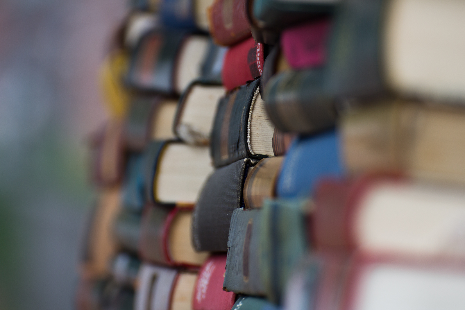 Books, by Pimthida on Flickr, CC licensed