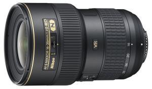 Nikkor 16-35mm f/4 ultra wide-angle lens