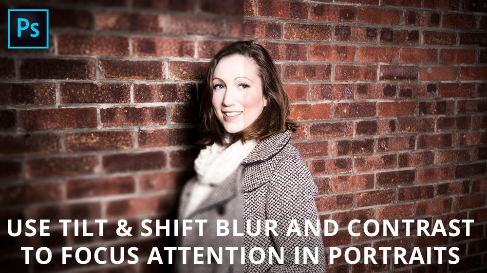 Use blur and contrast to focus attention in portraits
