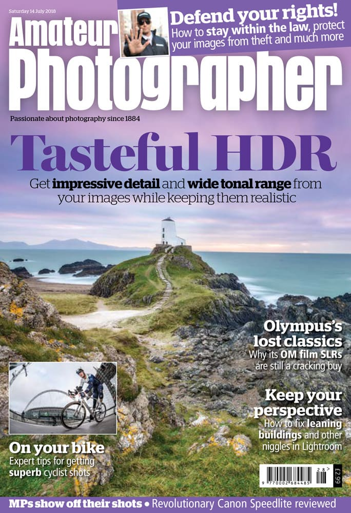 Amateur Photography magazine cover 14 July 2018