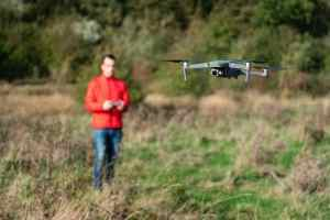 James Abbott Photography flying a DJI Mavic 2 Pro drone