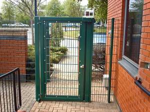 Police HQ Gates