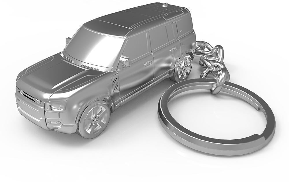 No Time To Die merchandise sleutelhanger Ranger Rover 001