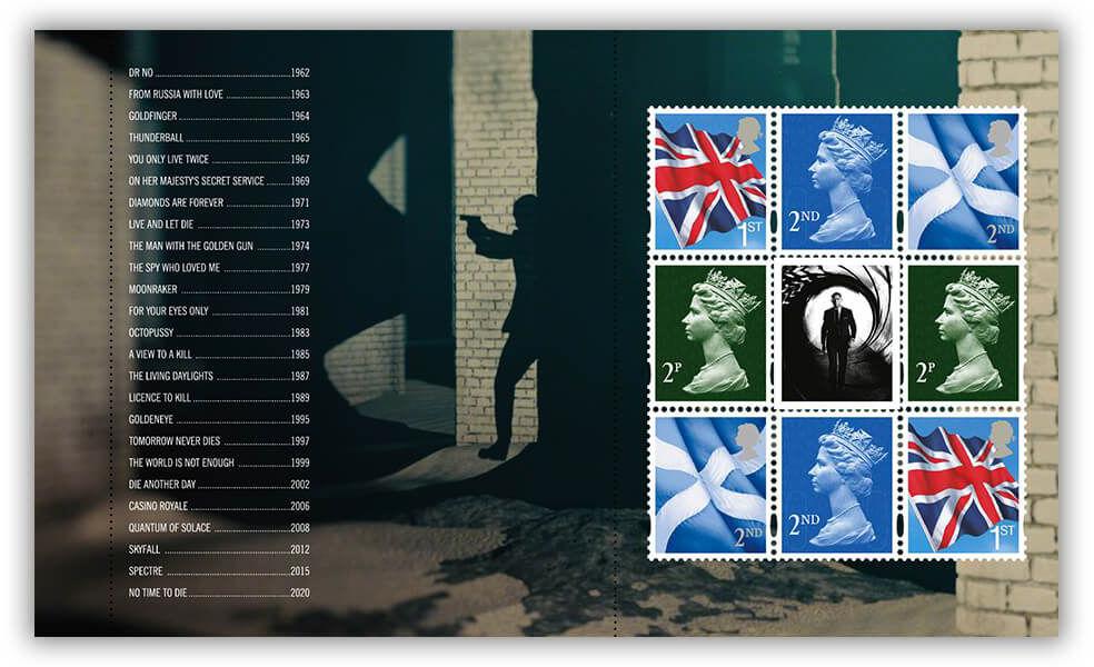Royal Mail postzegels 2020 prestige set 006