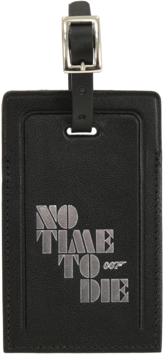 No Time To Die Globe-Trotter label zijde 1